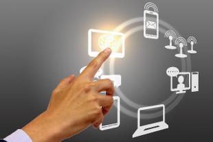 情報化と業務改革のイメージ